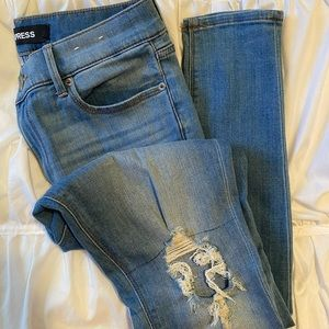 Express Legging Mid Rise Jeans
